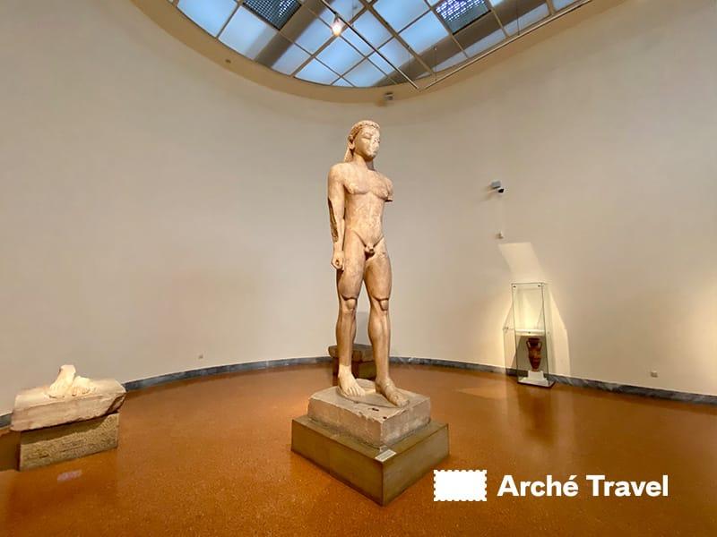 Il Kouros di Sunio - Museo Archeologico di Atene