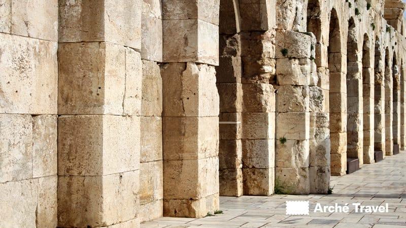 blocchi di pietra ingresso