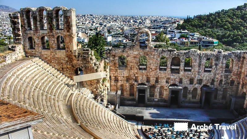 spettacoli teatro erode attico atene
