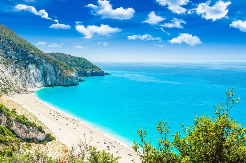 mylos foto di spiagge Lefkada
