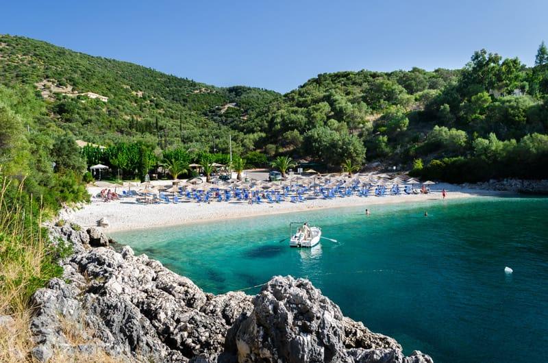 Ammoussa spiagge migliori di Lefkada