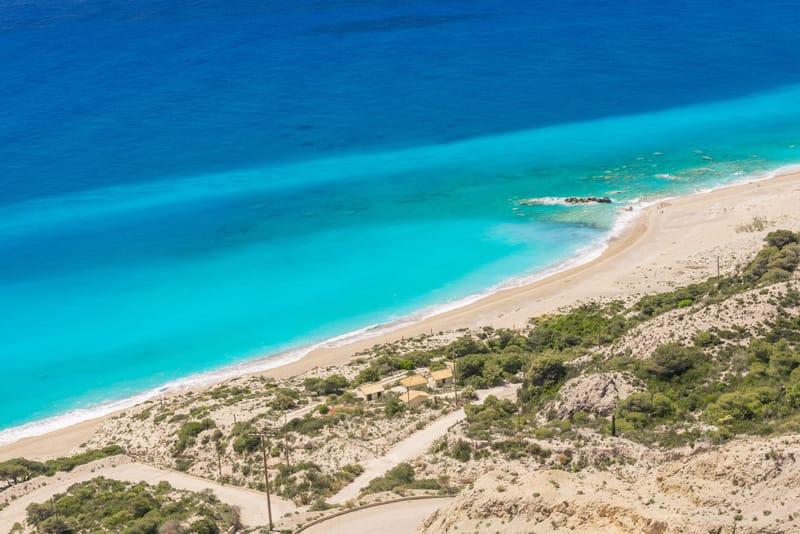 Gialos spiagge Lefkada mappa