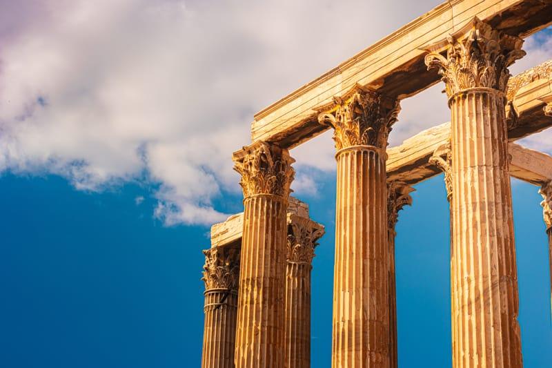 capitelli tempio zeus olimpio