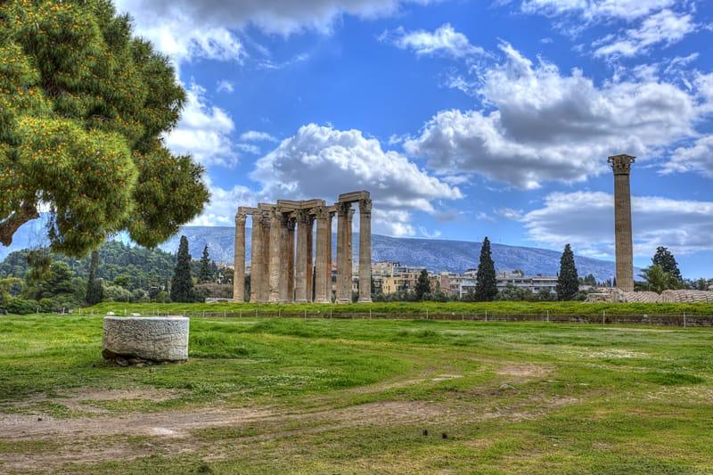 parco archeologico tempio zeus