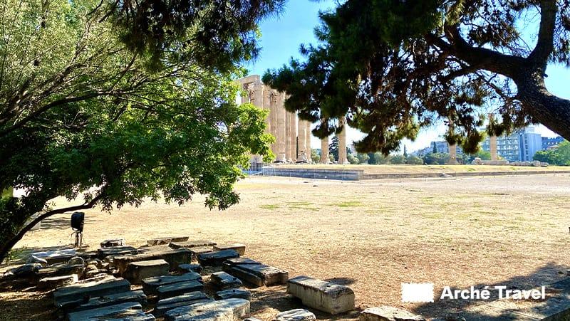 resti tempio parco archeologico