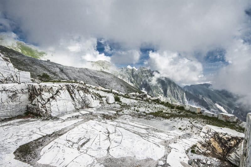 Toscana cosa fare - Marmo di Carrara Alpi Apuane