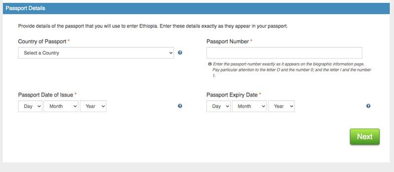 passaggio 3  visto turistico etiopia per italiani