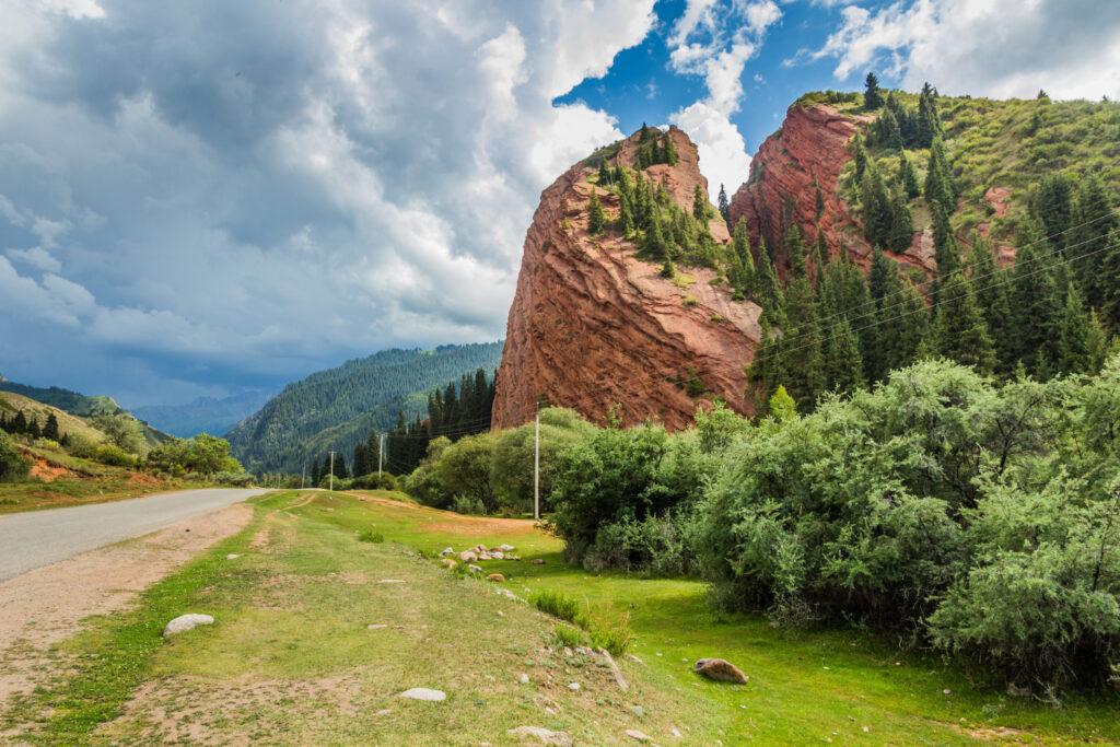 valle di Jeti Oguz - Kirghizistan quando andare