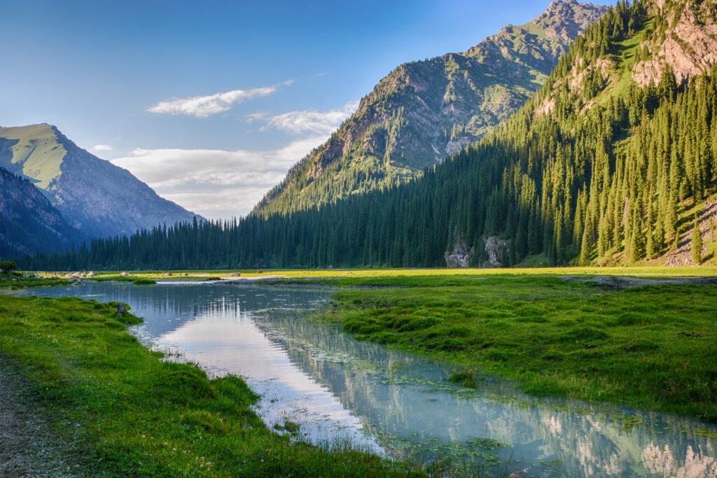 montagne Teskey Ala-Too tien shan - Kirghizistan quando andare