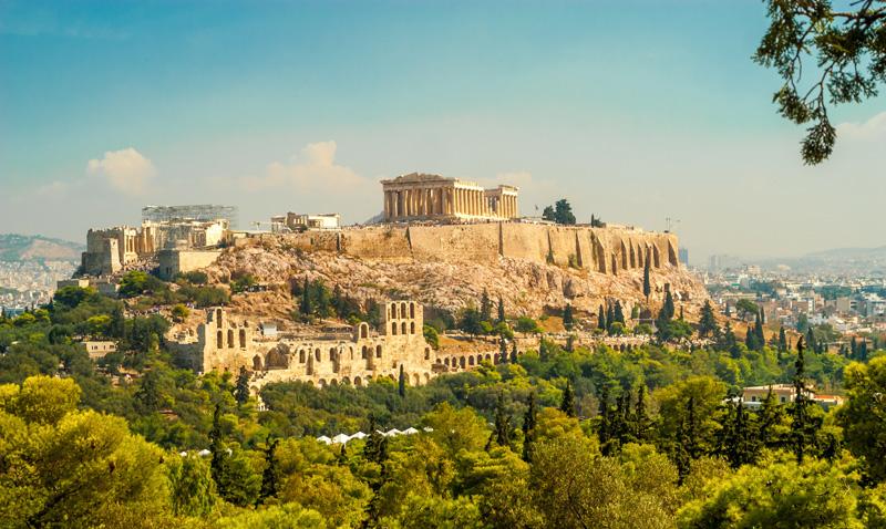 pendici dell'acropoli