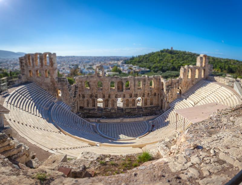 odeon erode attico cosa fare ad Atene