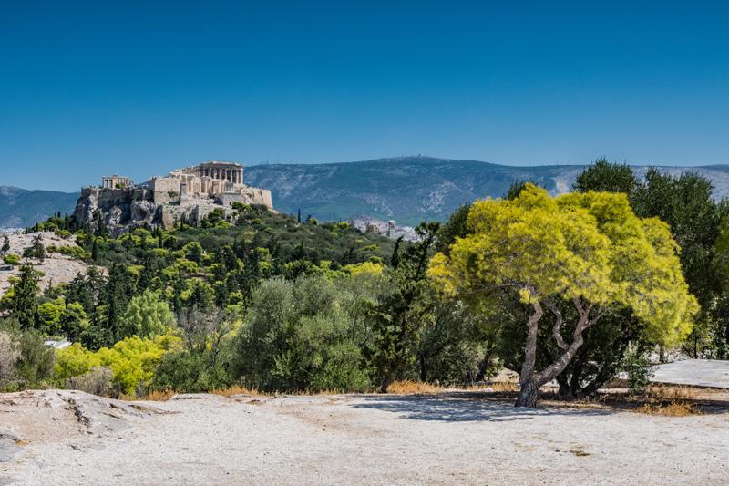 Pnice Collina Acropoli