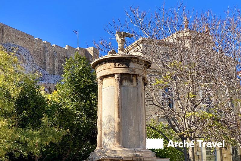 Monumento coregico di Lisicrate Plaka cosa visitare ad Atene