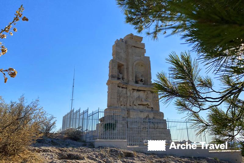 monumento di Filopappo collina delle muse