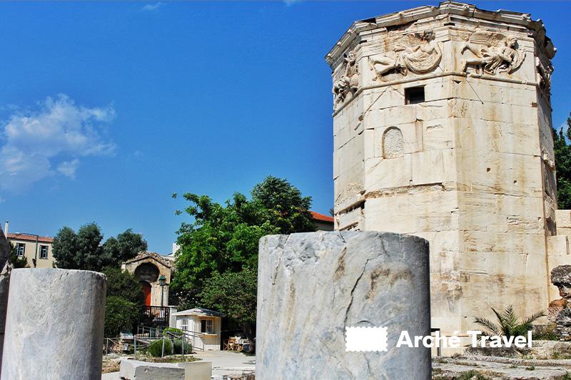 torre dei venti agorà Romana cosa visitare ad Atene
