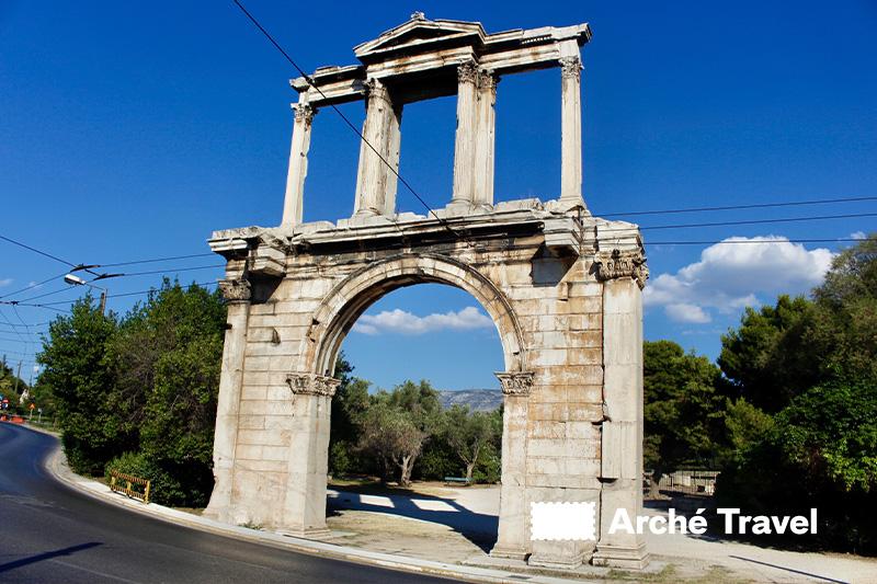 Arco Adriano cosa visitare ad Atene