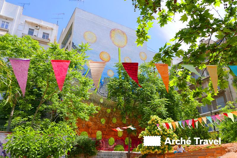 Exarchia street art