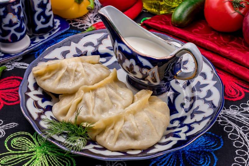 Manti, Uzbekistan cucina, piatti tipici