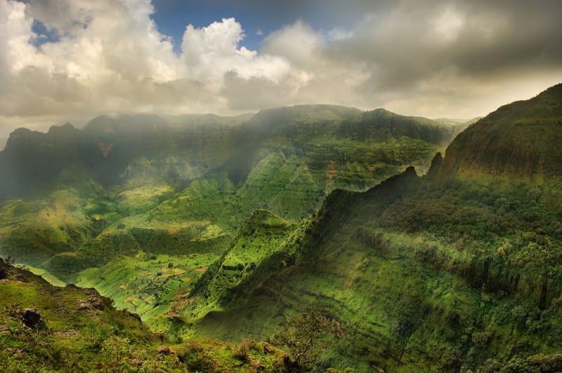 Clima Etiopia quando andare - Monti Simine altopiano etiope clima temperato