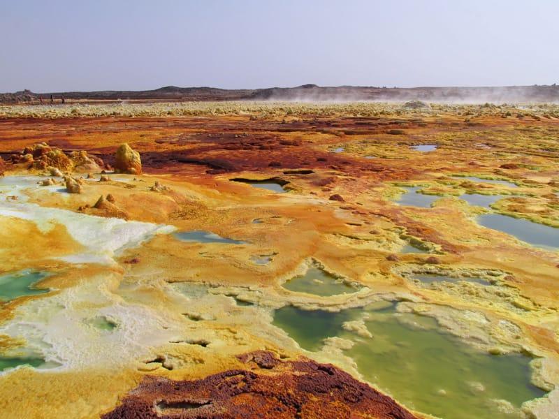 Etiopia periodo migliore per un viaggio in etiopia quando andare - Dancalia clima tropicale arido
