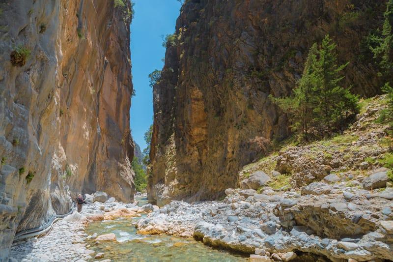creta cosa fare trekking gole di samaria