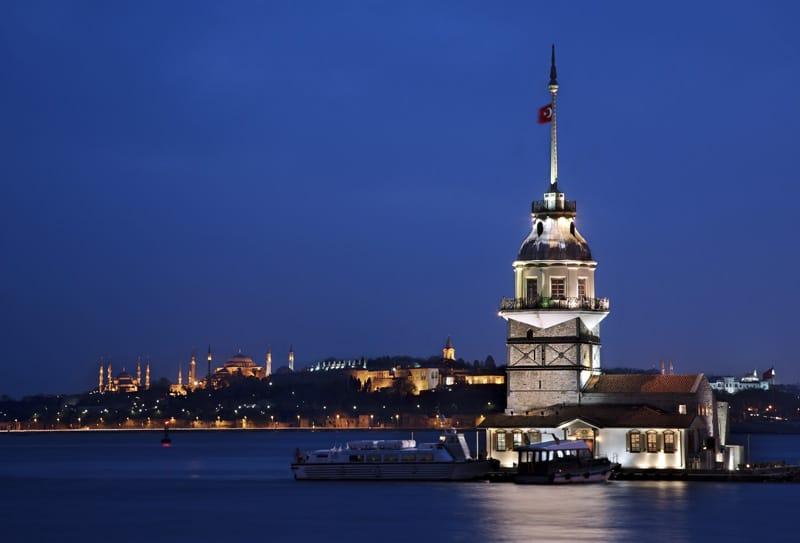 cosa visitare a istanbul asiatica - torre di leandro