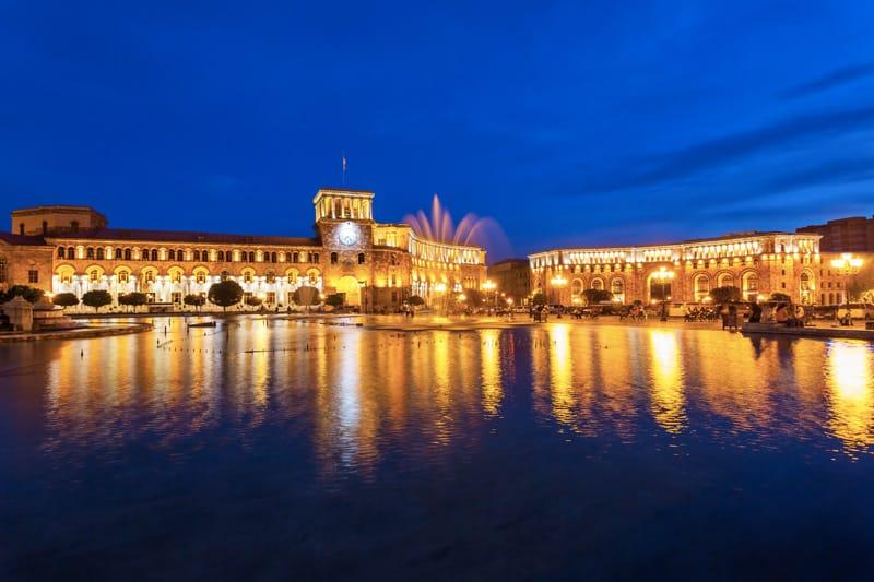 Piazza della Repubblica Yerevan