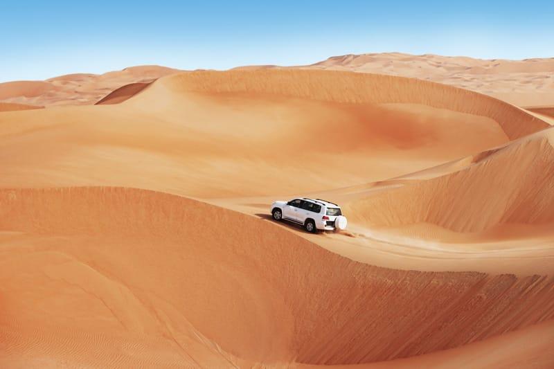 deserto escursione