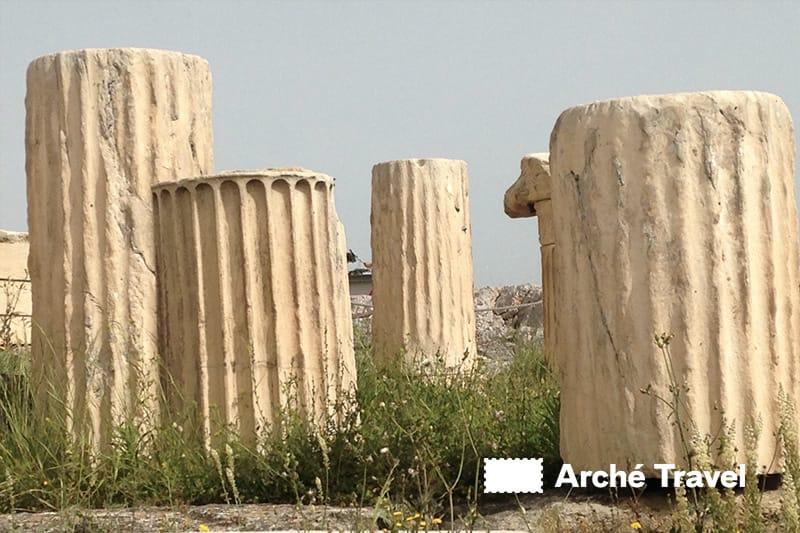 colonne marmo pentelico