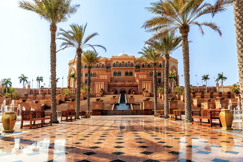 abu dhabi 10 cose da vedere ad abu dhabi - emirates palace