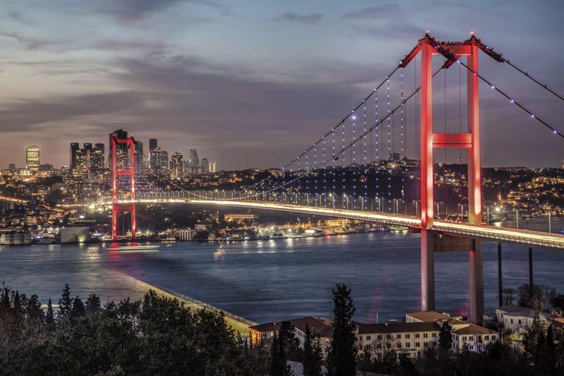 10 cose da vedere a istanbul asiatica - ponte auroasia