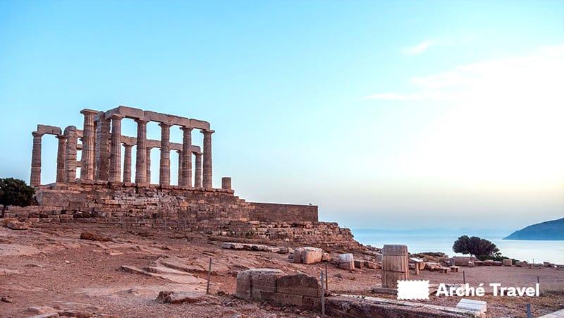 monumenti grecia antica siti archeologici - capo sounion