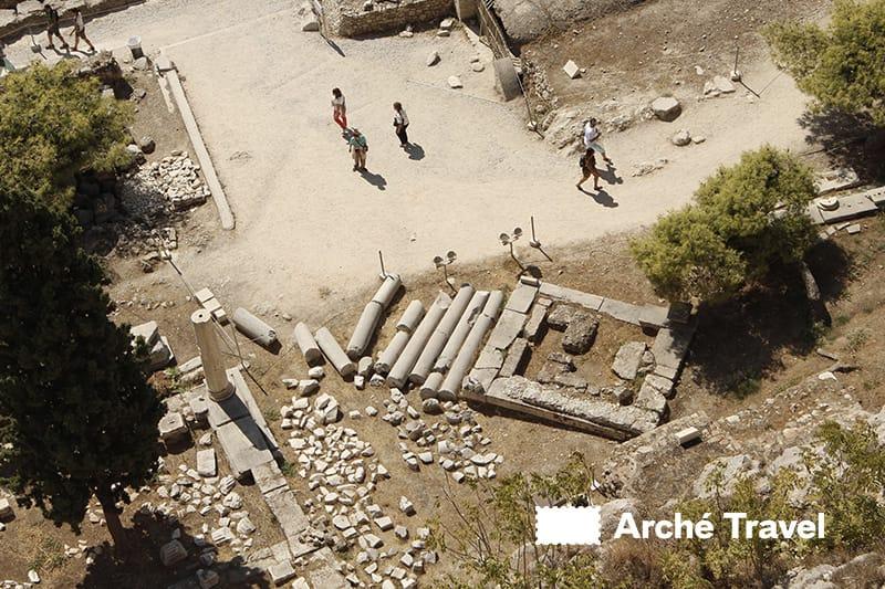 Monumenti romani Acropoli Atene
