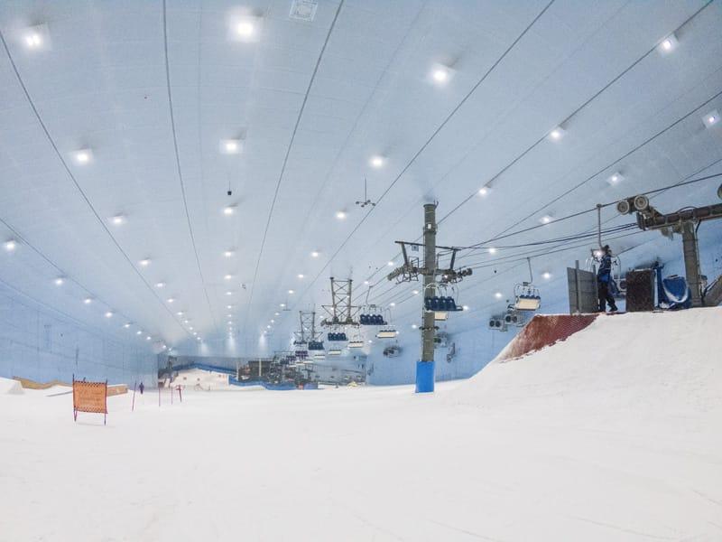 cosa fare a dubai ski