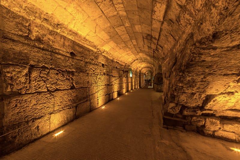 tunnel muro del pianto