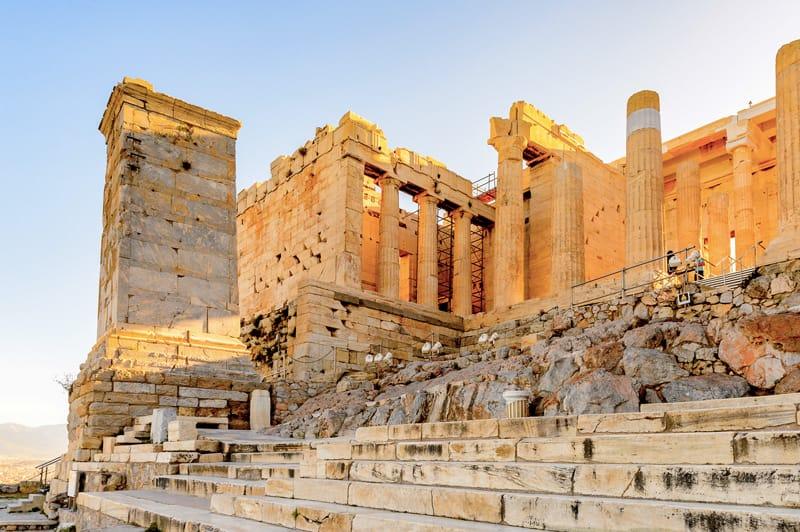 propilei acropoli atene