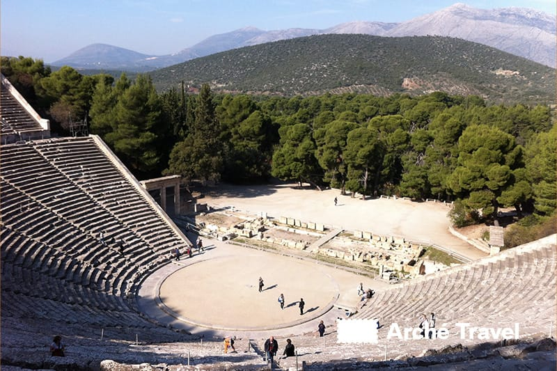 siti archeologici grecia antica monumenti - epidauro