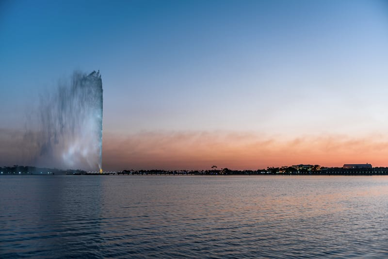 Cosa visitare Jeddah cosa vedere - Fontana Jeddah Re Fahd