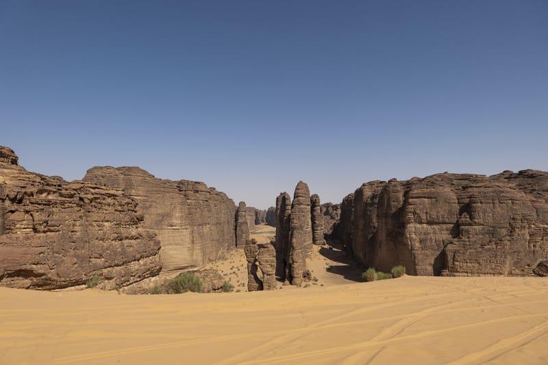 cosa fare alula cosa vedere al ula - jibal al rukkab deserto alula