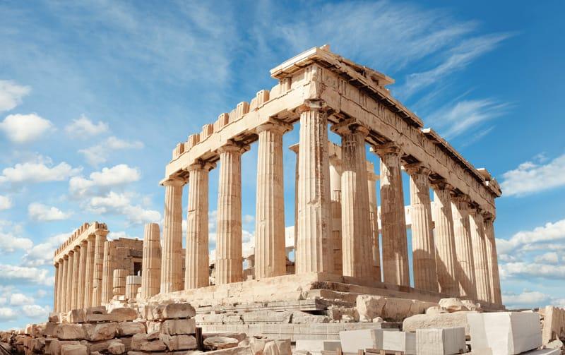 resti colonne doriche