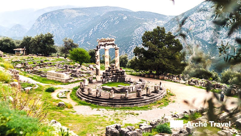 siti archeologici grecia monumenti - delfi