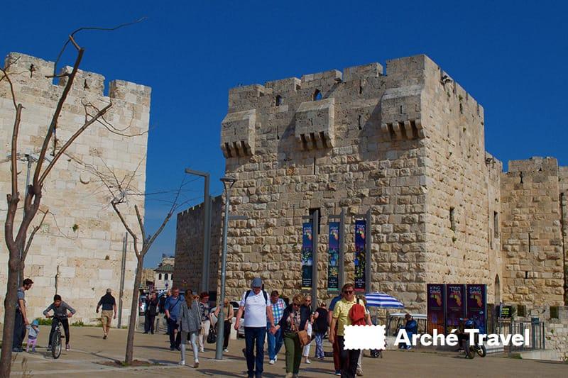 cosa vedere a gerusalemme israele - porta di giaffa
