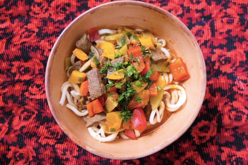 Laghman - Cosa mangiare in Kirghizistan