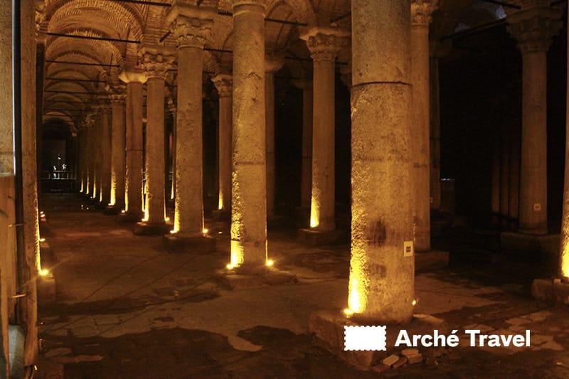 cosa visitare a istanbul cosa vedere - cisterna basilica