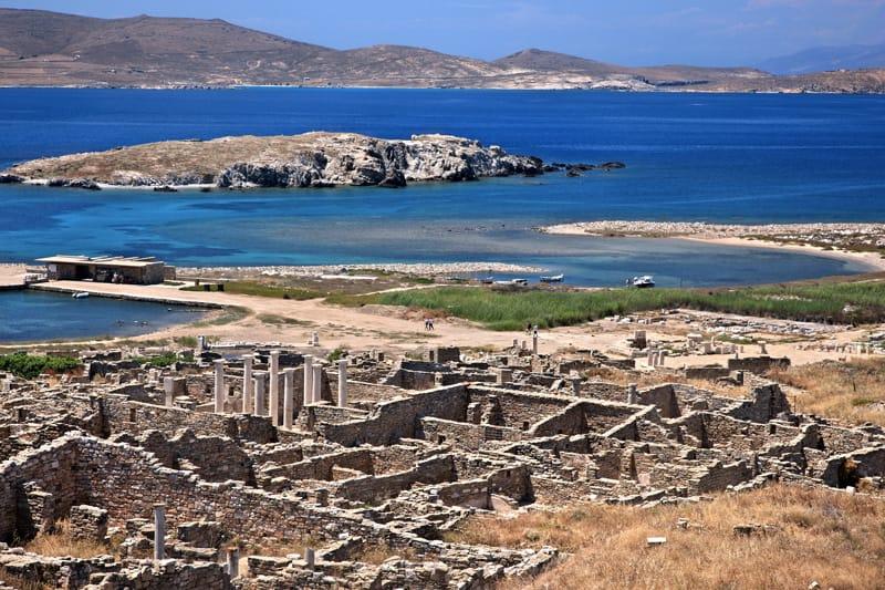 siti archeologici grecia unesco - delo