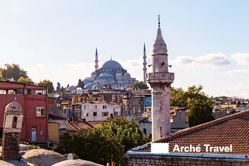 cosa visitare a istanbul cosa vedere - moschea di solimano