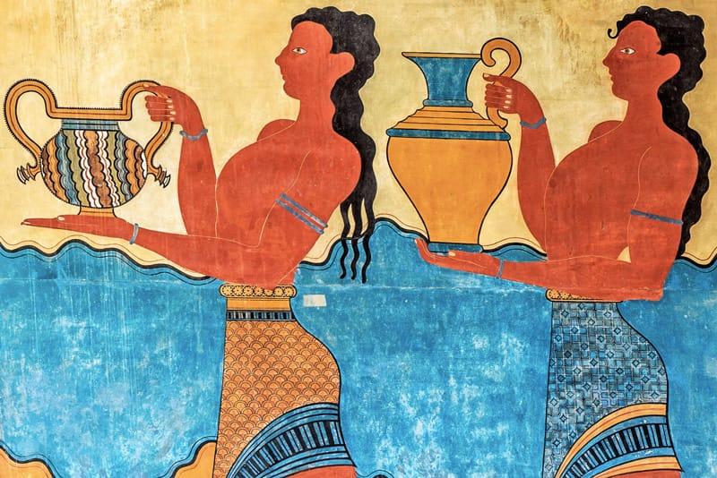 cnosso affreschi