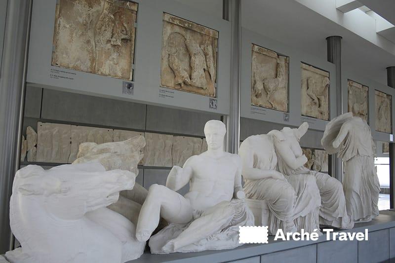 sculture museo acropoli