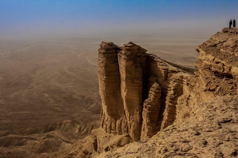 Riad cosa fare a Riyad cosa vedere Riad Arabia Saudita Edge of the World