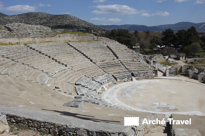monumenti grecia siti archeologici - filippi